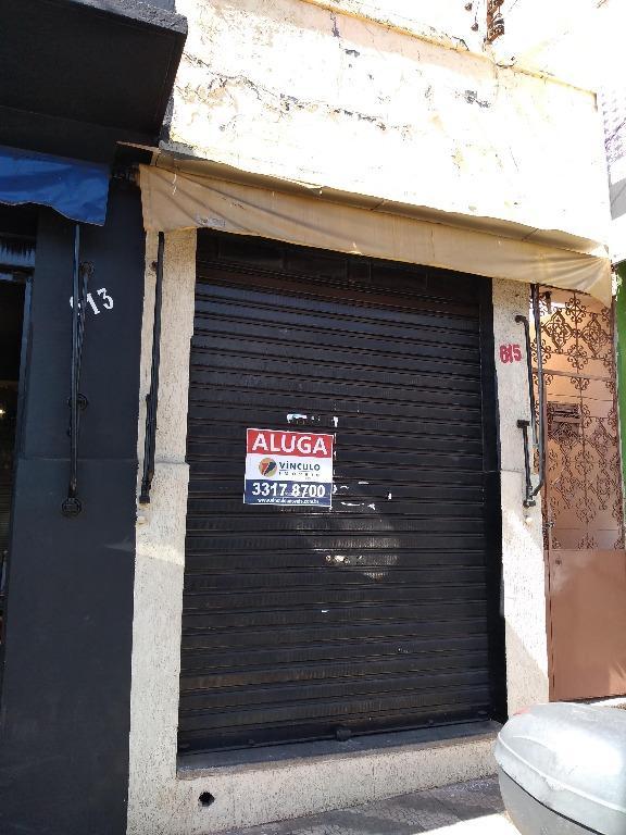 Ponto comercial para locação, São Benedito, Uberaba - PT0054.