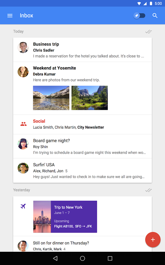 Inbox by Gmail Screenshot 9