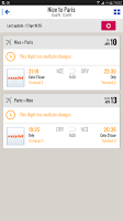 Screenshot of CheckMyTrip