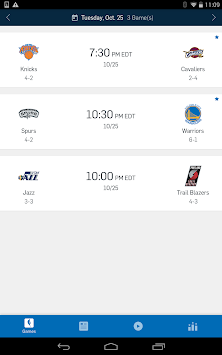 NBA App APK screenshot thumbnail 11