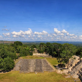 From the top of El Castillo by Margie Troyer - Landscapes Travel