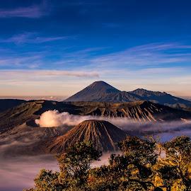 Mount Bromo by Alexander Nainggolan - Landscapes Mountains & Hills ( mountain, indonesia, landscape, pananjakan, bromo )
