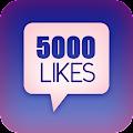 5000 Likes Simulator APK for Blackberry