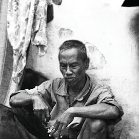 My Uncle by Airul Hidayat - People Portraits of Men