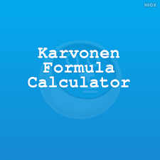 Karvonen Formula Calculator