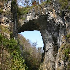Natural Bridge, VA. by David Walters - Landscapes Caves & Formations ( nature, natural bridge, landscape, rocks, va. )