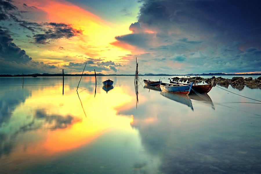 Rest Area by Arief Wardhana - Transportation Boats