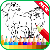 Free Coloring Book Spirit Stallion APK for Windows 8