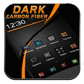 Black Carbon Fiber Theme