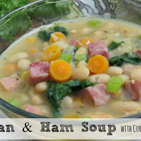Bean and Ham Soup With Curly Endive