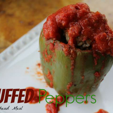 Stuffed Peppers Recipe - Make Ahead Meal