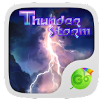 Thunder Storm Keyboard Theme Icon
