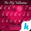 Be my valentine Kika Theme APK for Kindle Fire