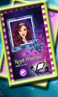 Royal Princess Makeup Artist - screenshot