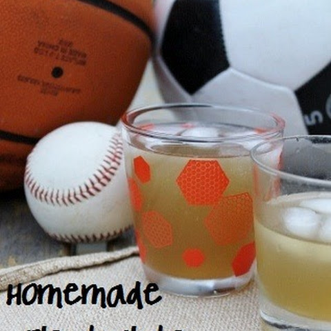 Homemade Electrolyte Sports Drink {Honey & Stevia-Sweetened}