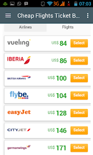 CHEAP FLIGHTS - screenshot
