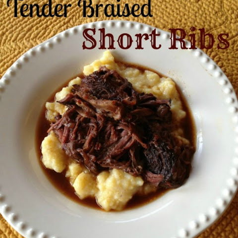 Tender Braised Short Ribs