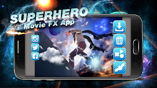 Superhero Movie FX App - screenshot