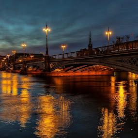 Old bridge in Stockholm by Dan Westtorp - Buildings & Architecture Bridges & Suspended Structures