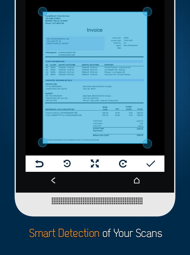 Docufy - PDF Scanner App Screenshot 1