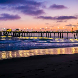 Sunset at the Beach Image by Rich AMeN Gill by Rich Gill - Landscapes Beaches ( rich amen gill, sunset off the coast, images by rich amen gill, california sunset, rich gill )