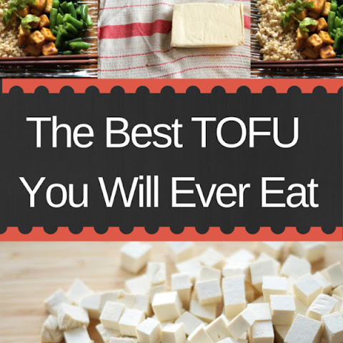 The Best Tofu You Will Ever Eat (gluten free and vegan)