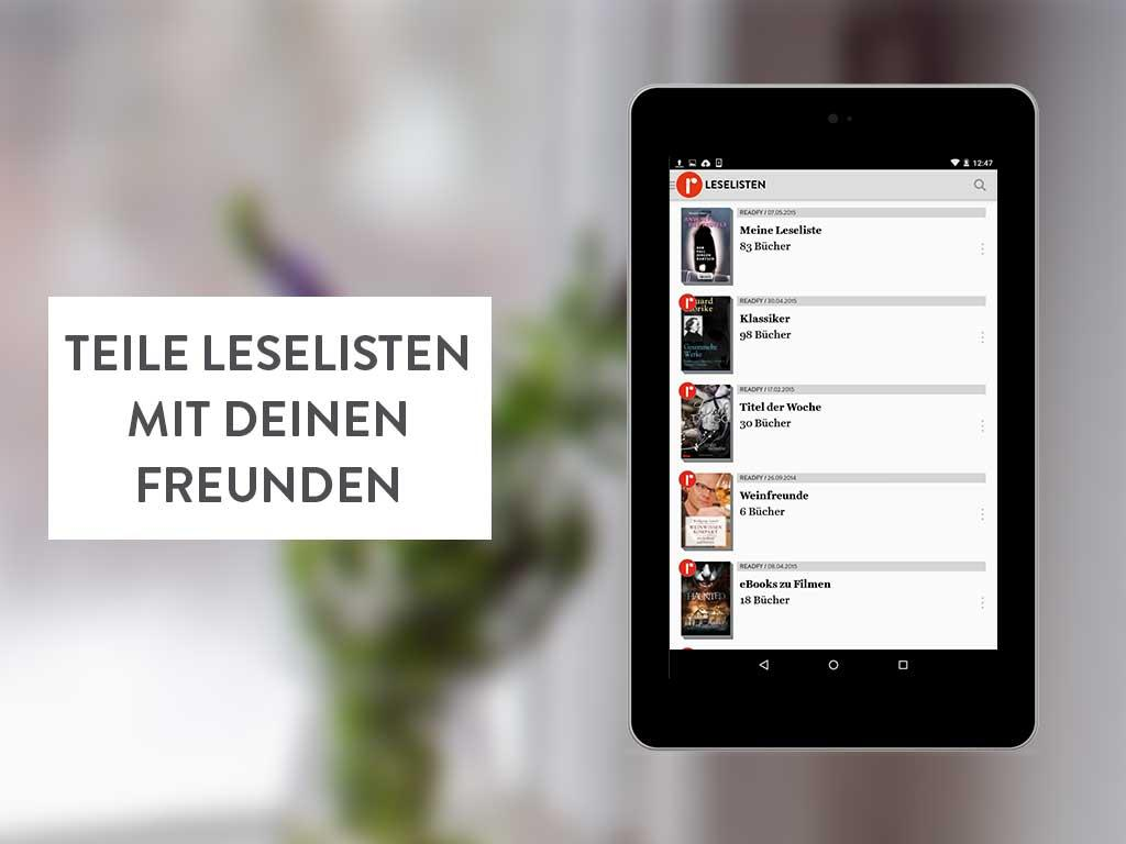 readfy - eBooks gratis lesen Screenshot 6