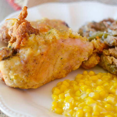 Gluten Free Oven Fried Chicken