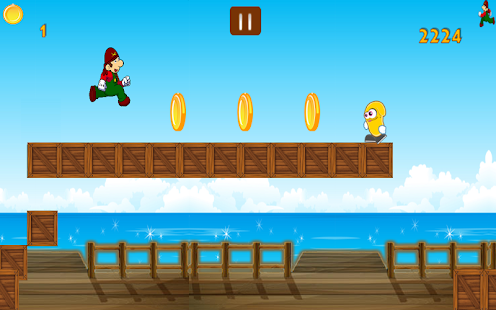 Jungle Adventure Jump - screenshot