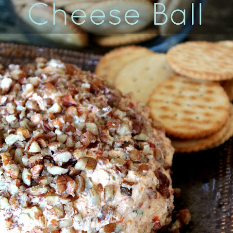Roasted Red Pepper Cheese Ball