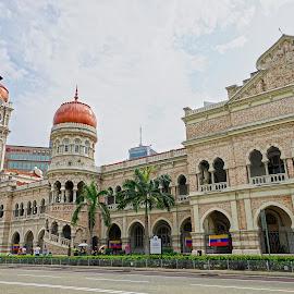 Dataran Merdeka by Mulawardi Sutanto - Buildings & Architecture Public & Historical ( kl, dataran merdeka, travel, malaysia, building )
