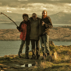 OnTop of the World.... by Gordon Westran - People Family ( scotland, mountain, family, loch, people,  )