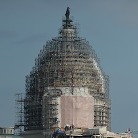 US Capital Face Lift by Michael Harris - Buildings & Architecture Public & Historical ( washington dc, capital of the usa )