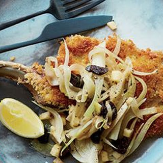 Crispy Pork Chops with Warm Fennel Salad
