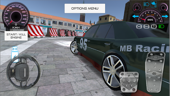 Game W124 E200 Drift Car APK for Kindle