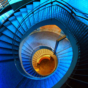 blue souls... by Awai Bucchi - Buildings & Architecture Bridges & Suspended Structures
