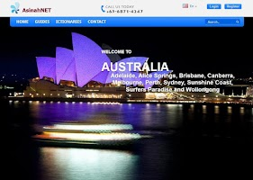 Screenshot of Australia Travel Guide