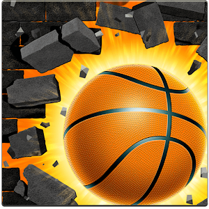 Basket Wall - Bounce Ball & Dunk Hoop For PC (Windows & MAC)