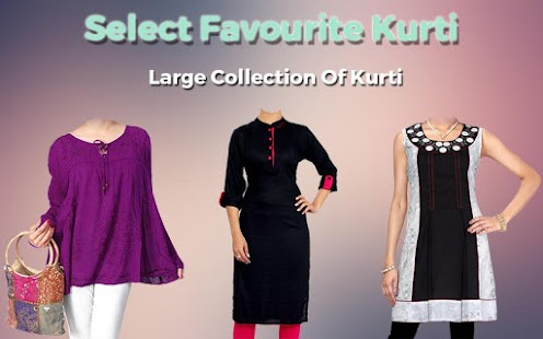 Women Kurti Photo Maker- screenshot