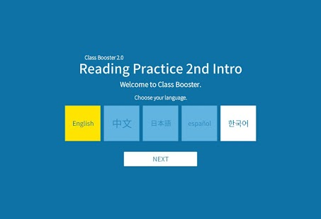 Reading Practice 2nd Intro - screenshot
