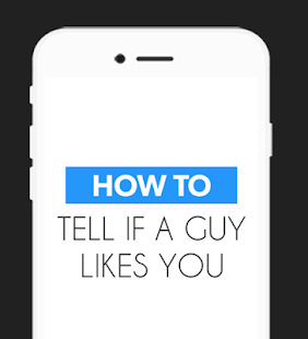 How to Tell if a Guy Likes You - screenshot