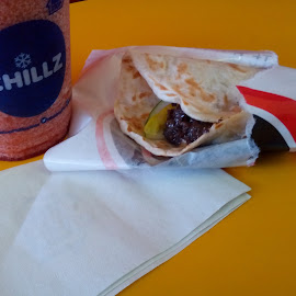 Beef Pita Doner with Veggies by Nel Tends - Food & Drink Meats & Cheeses ( chilled, foods, raspberry, beef, veggies )