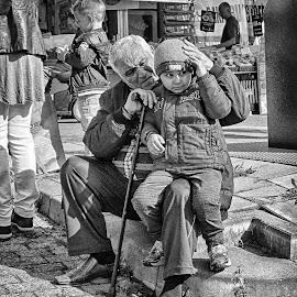 by Ad Spruijt - Black & White Street & Candid