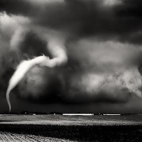 Twisty Tornado by Melanie Metz - Landscapes Weather ( twister, sky, weather, storm, tornado )