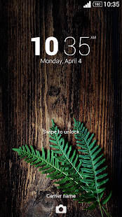 Fern Xperia Theme - screenshot