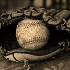 Catchful of Memories by Joel Cleofas - Sports & Fitness Baseball