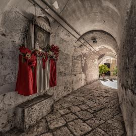 San Nicola by Antonello Madau - City,  Street & Park  Historic Districts