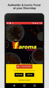 Faroma Food Order & Delivery Screenshot