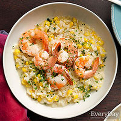 bulgur risotto with corn and shrimp recipes dishmaps bulgur risotto ...