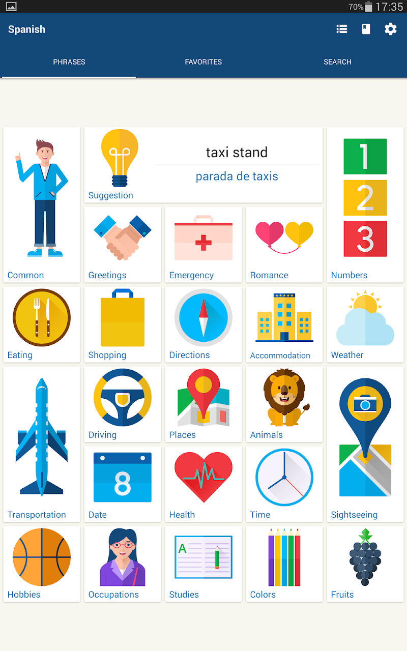 Travel Phrasebook | Foreign Language Translator Screenshot 10